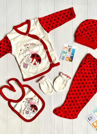 Набор для новорожденных ― 5 в 1, в подарочной упаковке