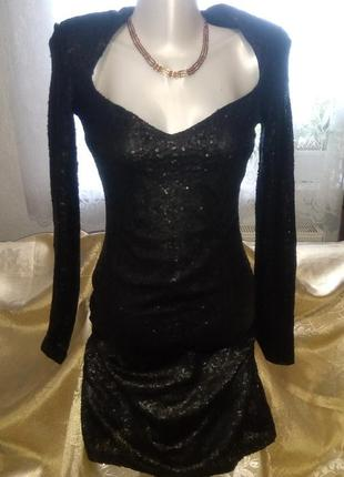 Замечательное чёрное платье.