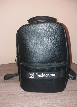 Рюкзак популярной соцсети instagram