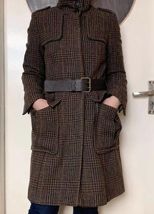 Пальто Zara 100% шерсть