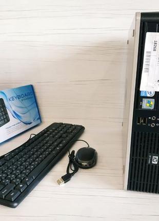 Системный блок HP/ ПК /C2D 3.0 /2 ГБ ОЗУ / Win 7 / Гарантия 3 ...