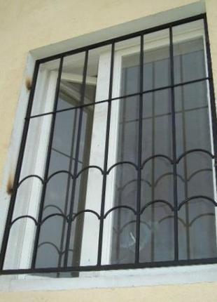 Решетки защитные на окна и двери