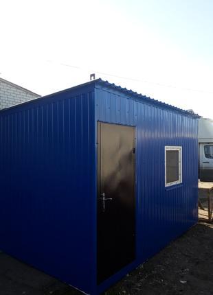 Будівельний вагончик, модульне приміщення, пост охорони, господар