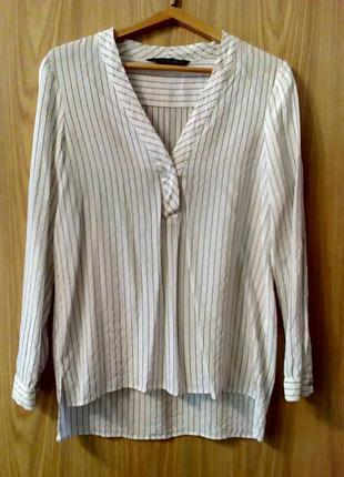 Стильная удлиненная рубашка