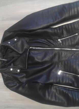 Косуха курточка кожанка