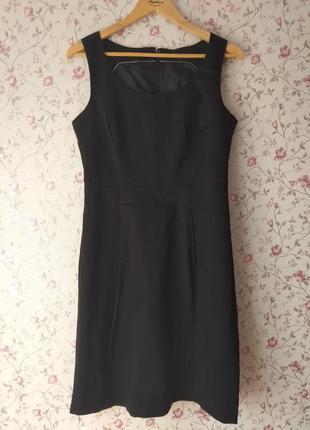 Черная пятница 😱👻классическое чёрное платье без рукавов