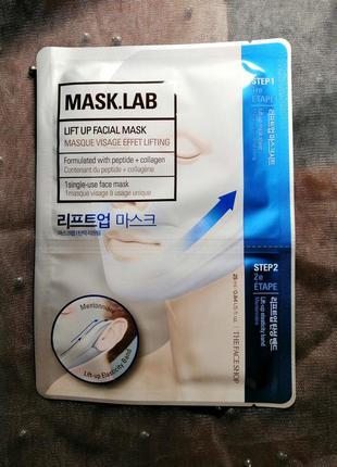 Лифтинговая маска для лица the face shop mask lab lift up face...