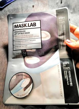 The face shop mask.lab brightening lift up face mask  маска ба...