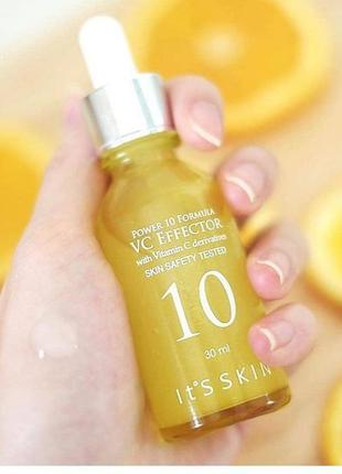 It's skin power 10 formula vc effector сыворотка с витамим с