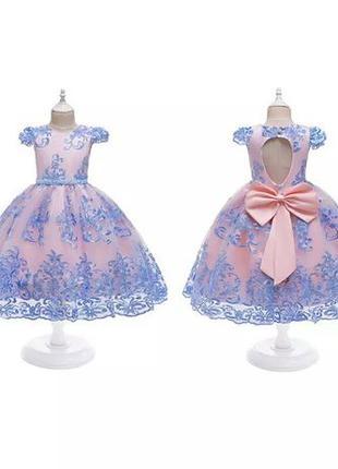 Новое нарядное платье на выпускной на девочку, плаття на свято...