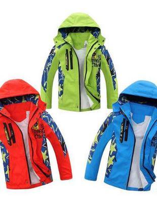 Куртка на мальчика ( ветровка) на весну, куртка на хлопчика, 3...
