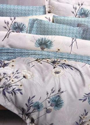Двухспальный комплект постельного белья из фланель тм колоко
