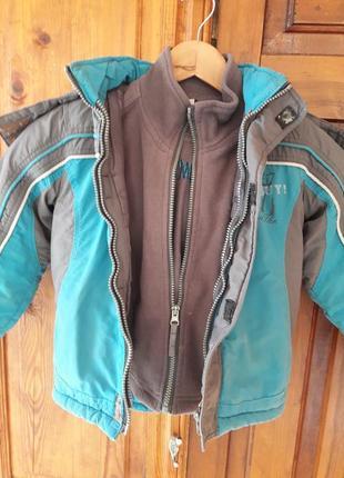 Курточка деми 2 в 1
