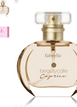 Парфюмерная вода для женщин beautycafe caprice 30 ml