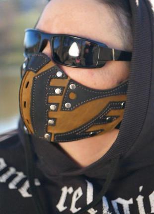 Маска. маска кожаная. маска бафф