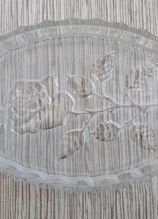 Салатница РОЗА (Сделано в СССР)