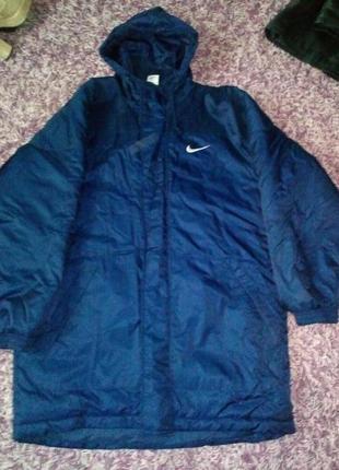 Куртка зимняя мужская nike (для больших)