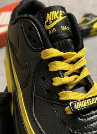 Nike air max 90 black yellow