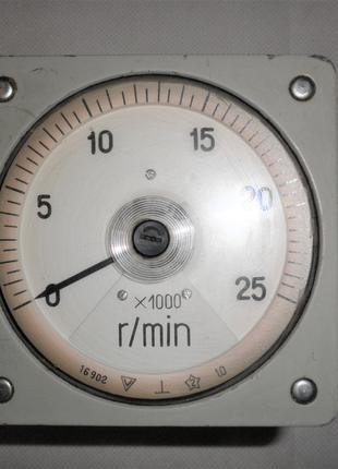 Головка измерительная M1618, тахометр, вольтметр, 1987г.