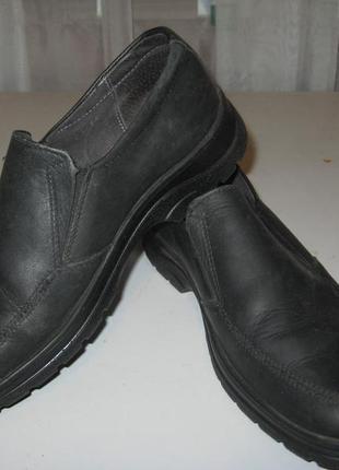 Практичные туфли для мальчика,кожанные.р-34. фирма irbis