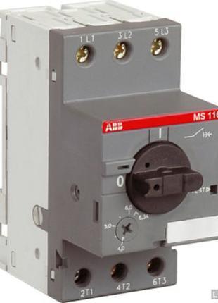 Автомат защиты двигателя ABB MS116