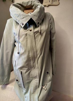 Плащ куртка ветровка женская нюд