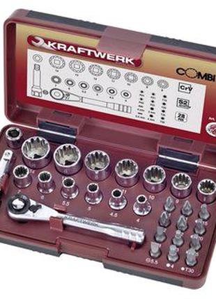 Набір головок і біт Kraftwerk