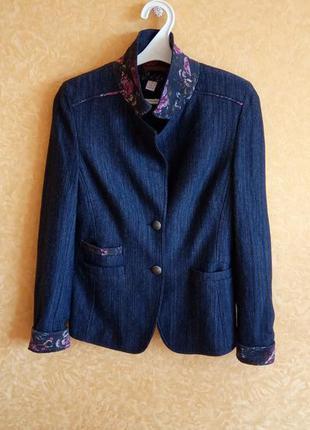 🔥хит🔥крутой пиджак жакет текстиль под джинс/самые низкие цены🙀