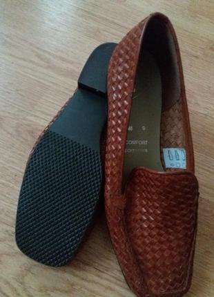 Туфли натуральная кожа женские  lamia, италия,  оригинал