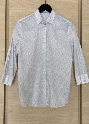 Рубашка премиум класса стильная модная van laack размер s/m
