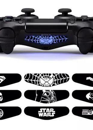 Наклейка для DualShock 4 на подсветку, PS4