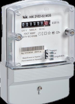 Счетчик электроэнергии NIK 2102-02 М2В б.у.