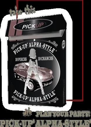 Male Potency Assistance PICK-UP® ALPHA-STYLE®