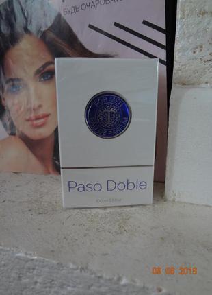 Стойкая парфюмированная вода мужская paso doblo от thalia, 100...