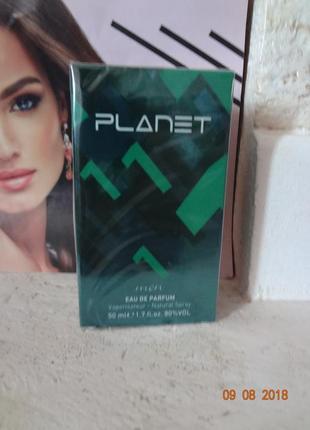 Стійка чоловіча парфумована вода planet edp for men green №1, ...