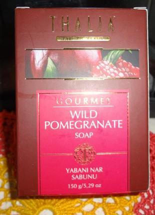 Натуральное мыло с экстрактом дикого граната  thalia , турция ...
