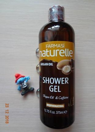 Гель для душа с аргановым маслом argan oil  фармаси  турция