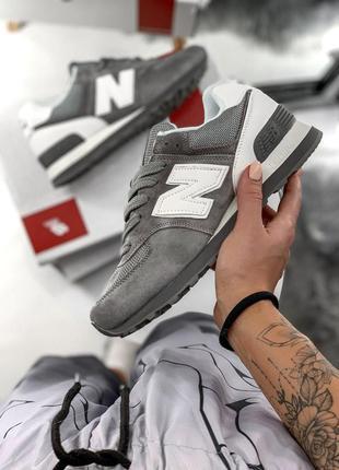 Жіночі кросівки нью баланс/беленс сірі, new balance 574 серые
