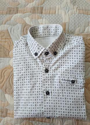 Рубашка нарядная мальчику 5-6 лет