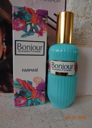 Парфюмированная вода bonjour farmasi фармаси
