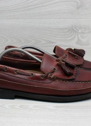 Кожаные мужские мокасины sperry top-sider оригинал, размер 44