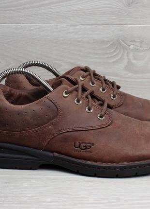 Кожаные мужские туфли ugg оригинал, размер 40 - 41