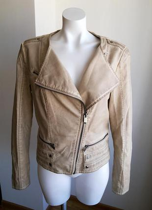 Guess кожаная куртка косуха 100% оригинал / massimo dutti arma...
