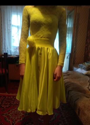 Платье для спотривно бальных танцев