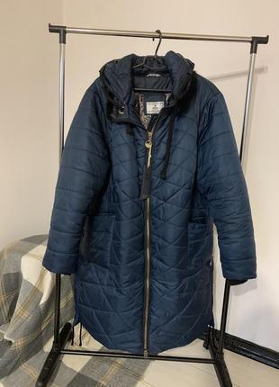 Пальто зимнее. большого размера