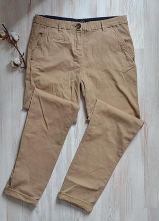 Хлопковые  летние брюки штаны чиносы