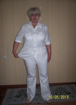 Коттоновый костюм фирмы lafei nier на наш  52 размер.