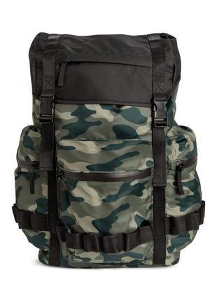 Большой вместительный рюкзак h&m !