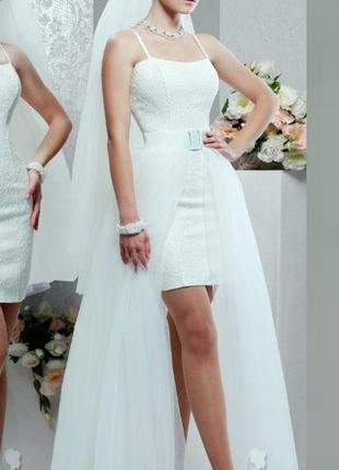 Свадебное платье мираж трансформер