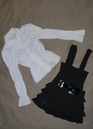 Школьная форма сарафан и блузка